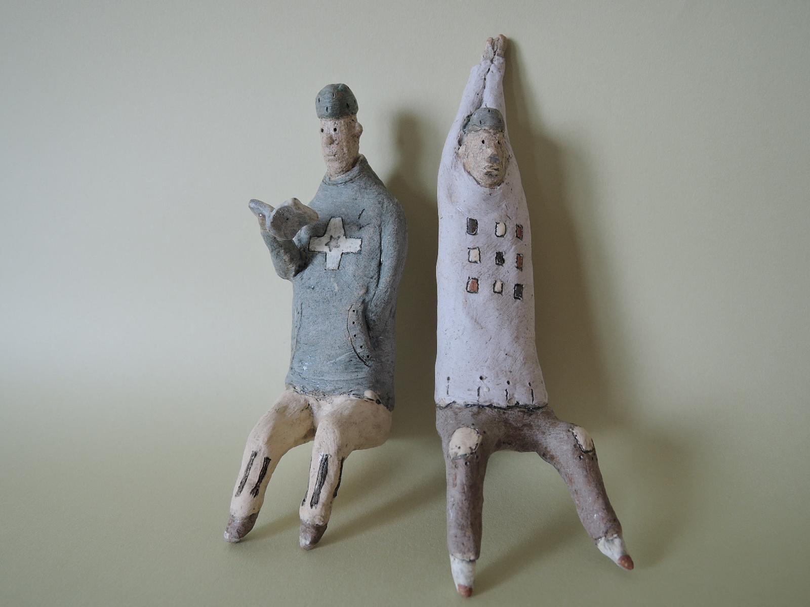 門脇美香江さんの陶器で作る 性格の違う友人
