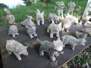 濱比嘉詩子さんの作品 動物たち