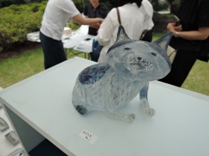 ADACHI TOMOE GLASS WORKSさんの展示作品