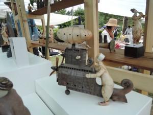 武藤公夫さんの展示作品