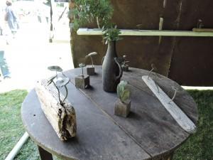鋳金家、本山ひろ子さんの展示風景