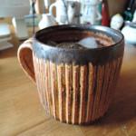 福島晋平さんの巨木のようなマグカップ