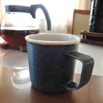山下透さんのホーローのような端正なミニマグカップ