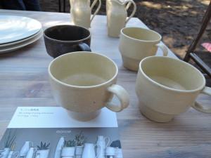 モノエさんのシンプルなカップ