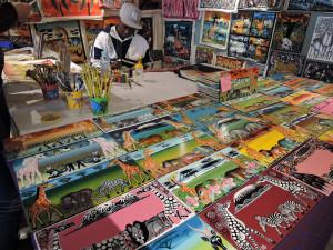 タンザニアのアート