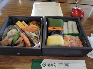 砺波の旨いものギッシリ お昼のお弁当