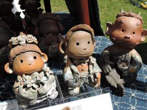 夢雲窯 橋本裕子さんの可愛い陶人形