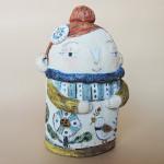コトコラージュさんの陶器人形 女の子