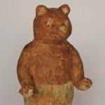 濱比嘉詩子さん陶器人形 森の仲間クマさん
