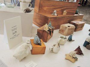 木村悠希さんの陶器人形たち