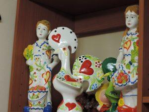 ロザリアアブレゥさんの陶房風景