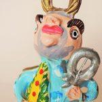 Julia Cota(ポルトガル)陶器人形 聖ペドロ