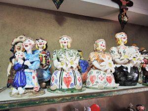 コンセイサォンさんの陶房風景