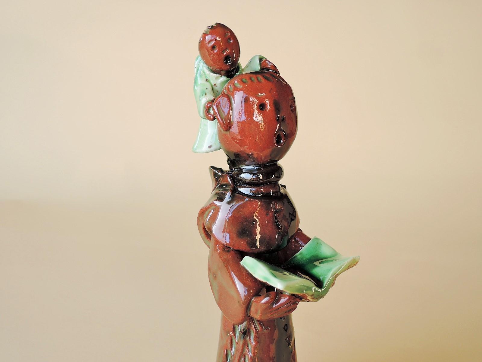 ラゥリンダピアス(ポルトガル)さんの陶人形 聖アントニオ
