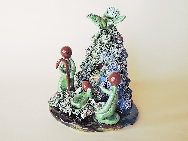 ポルトガルのクリスマス 美しいプレゼピオ Laurinda Pias作品