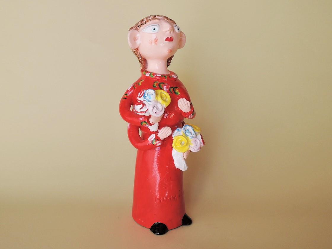 ポルトガル陶人形 イレーネ サゥゲイロ作品