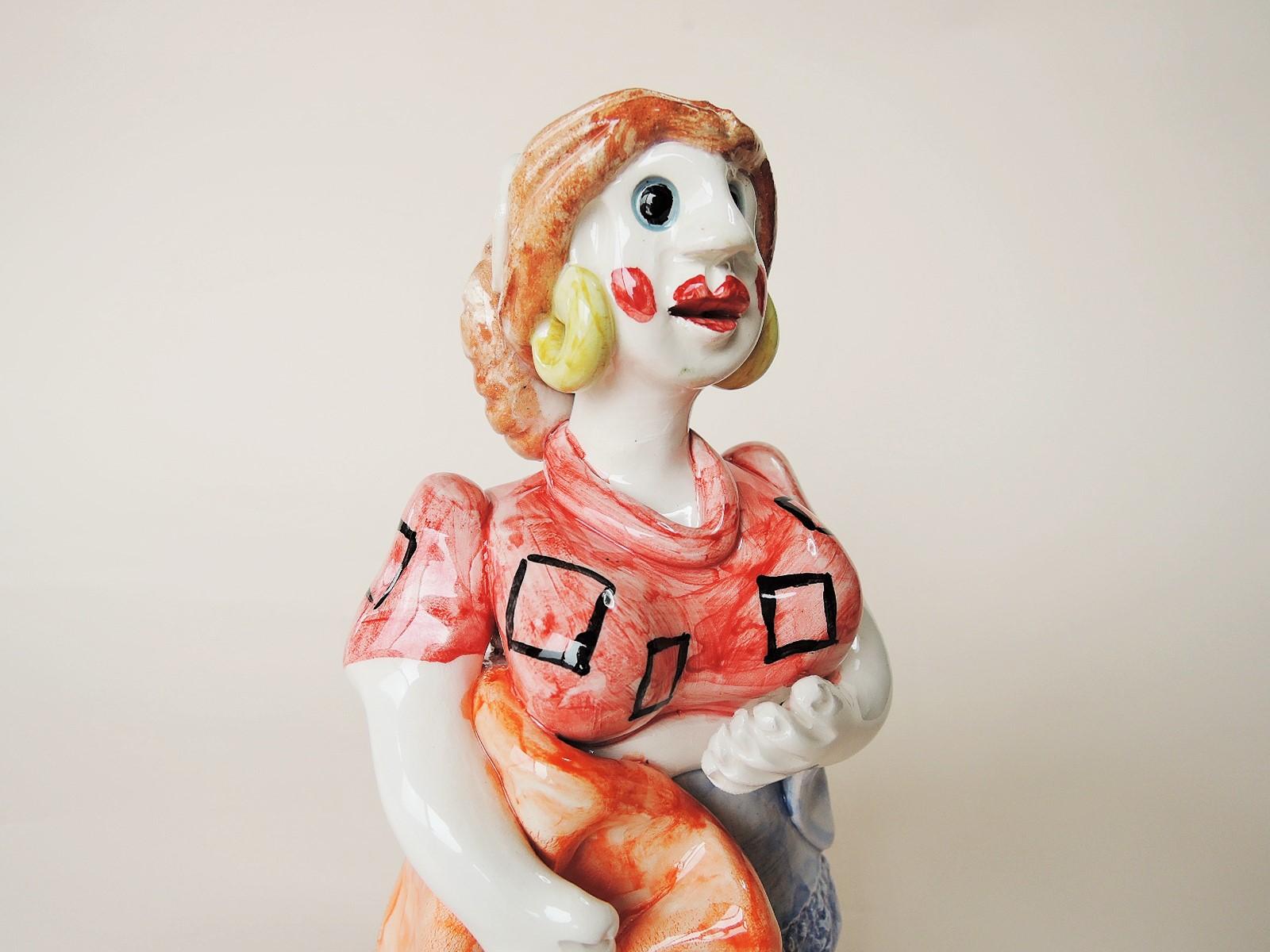 ポルトガル陶人形 ミーニョの女性 Conceicao Sapateiro作品