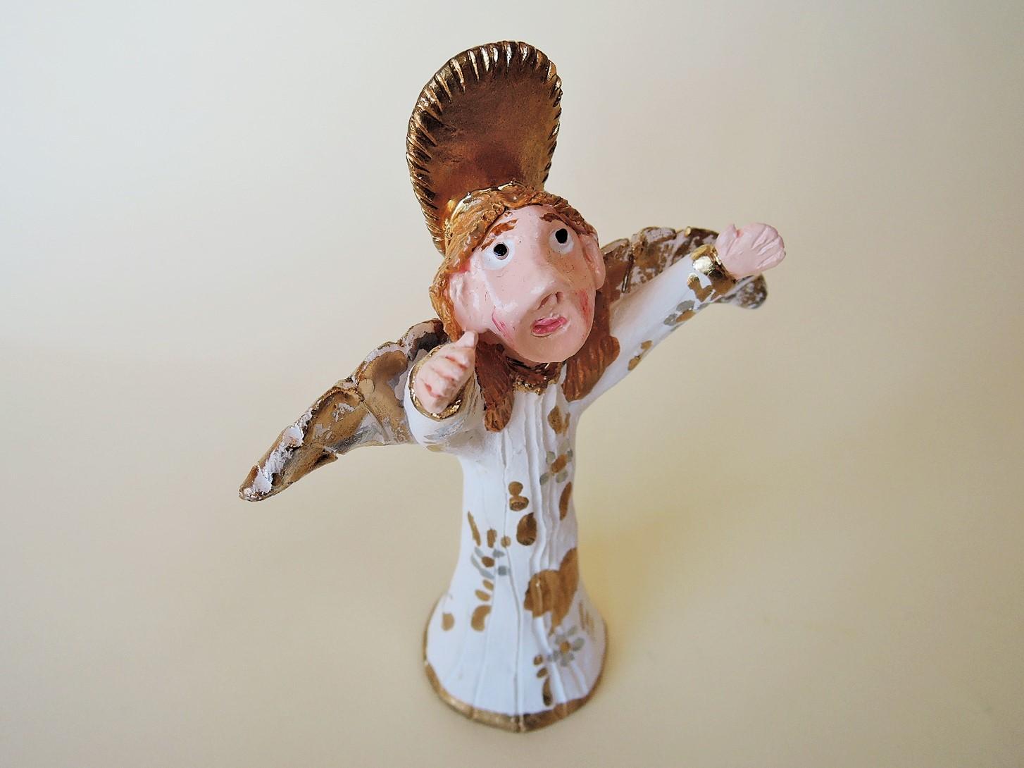 ポルトガル陶人形 天使像 Luisa Melo作品