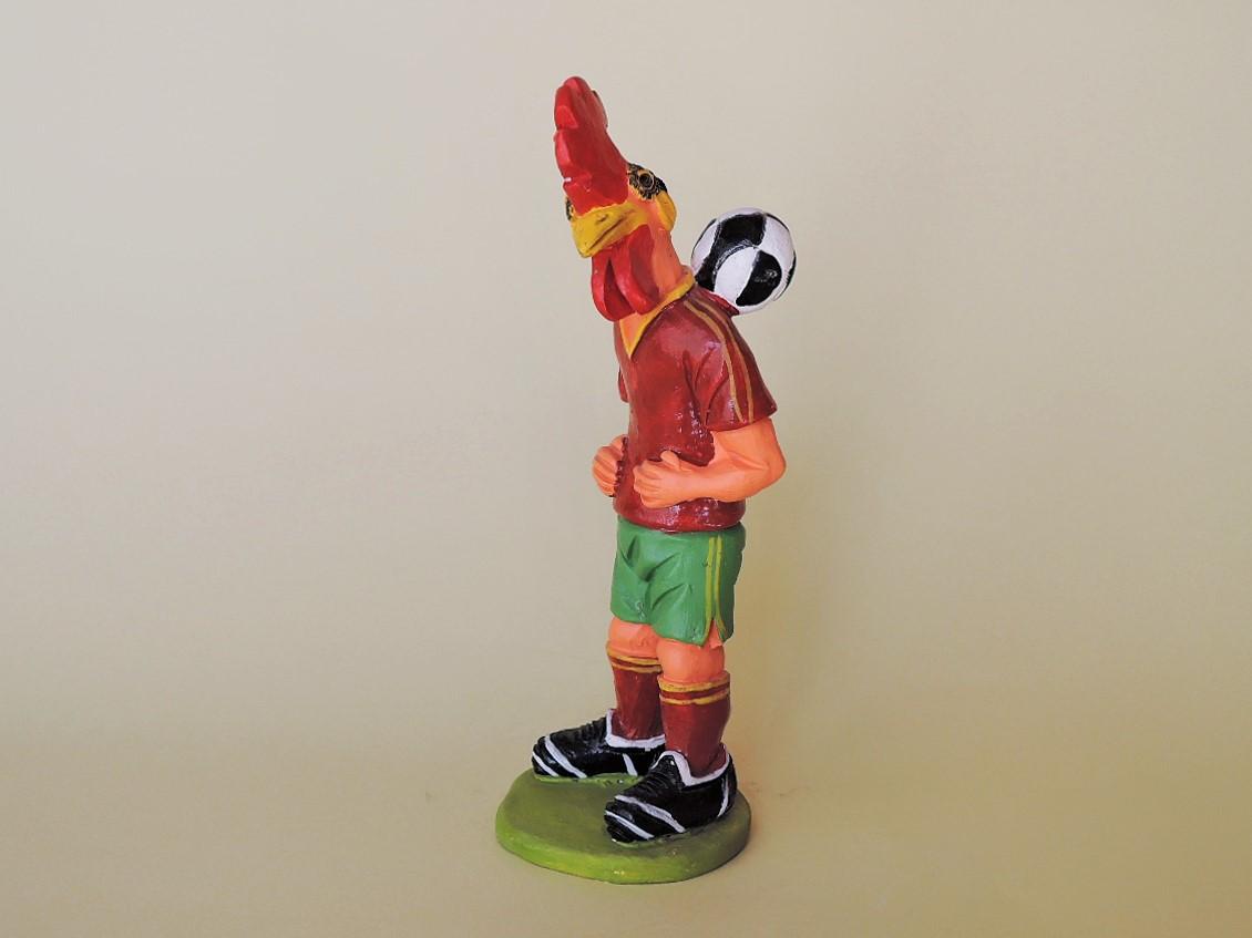 ポルトガル陶人形 ミステリオ兄弟 サッカーガロ