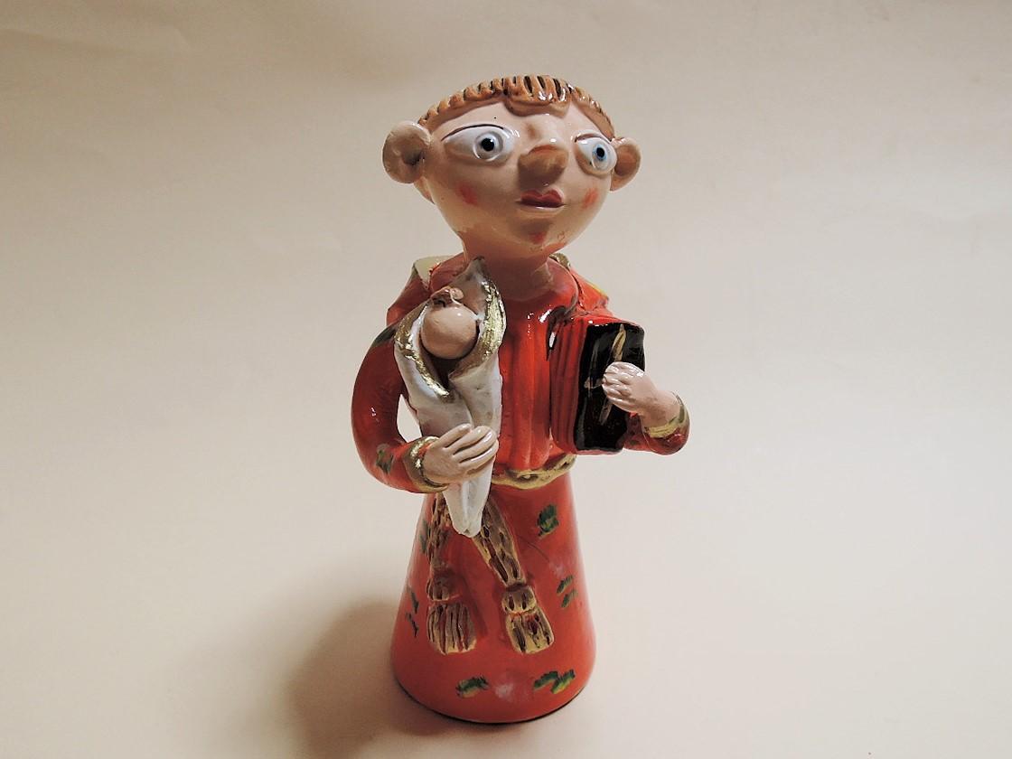 聖アントニオ イレーネ サゥゲイロ ポルトガル陶人形