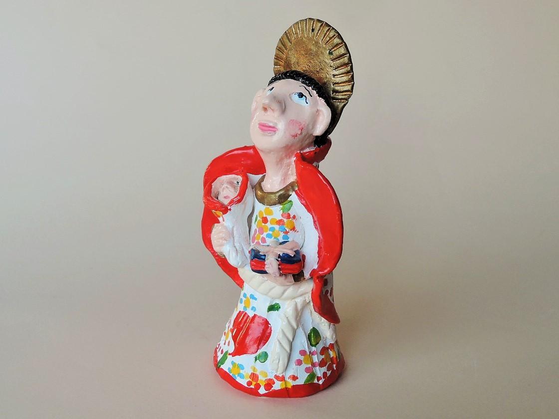 聖アントニオ LuisaMelo ポルトガル陶人形